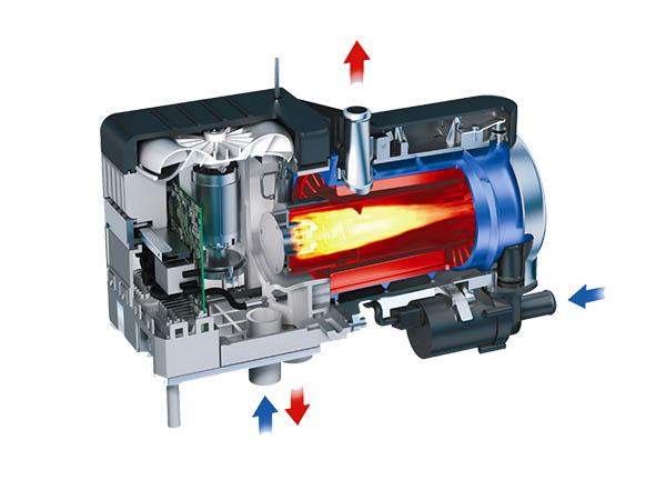 Diesel Heater Structure